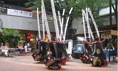Drummers in Shinjuku